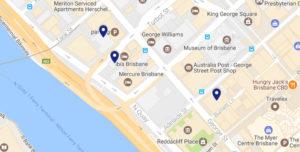 Chancery Barristers + Mediators map